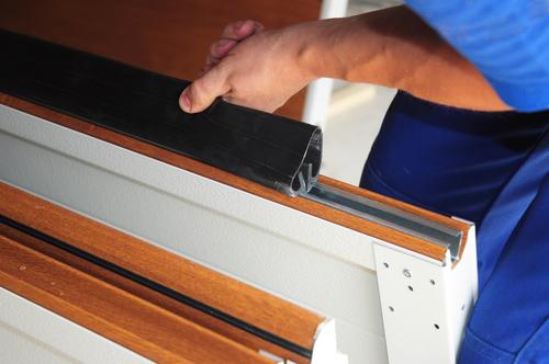 fix garage door seals